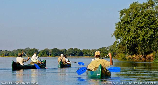 A Canoe Safari Through an Un-Spoilt Wilderness