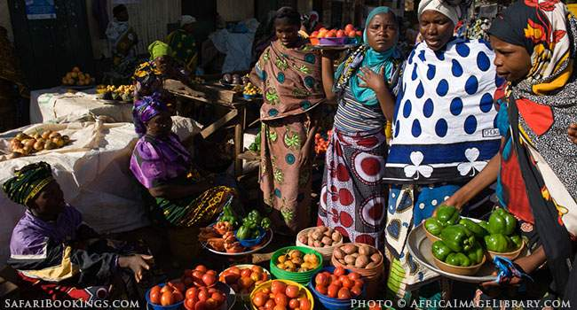 Distributing Free Cash in a Tanzanian Market