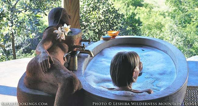 Leshiba Wilderness Mountain Lodge melts into nature