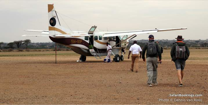 10 insights what to expect on safari - small 4-seater, single-engine charter flights