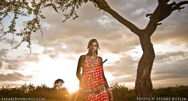 Walking With The Masaai Warrior