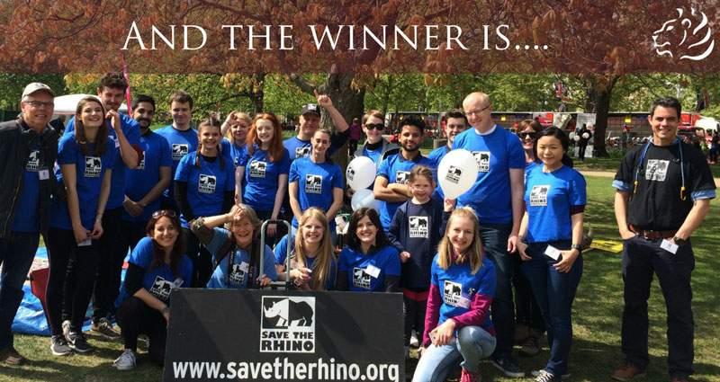 Save The Rhino Winner of the SafariBookings.com Rhino Donation Campaign