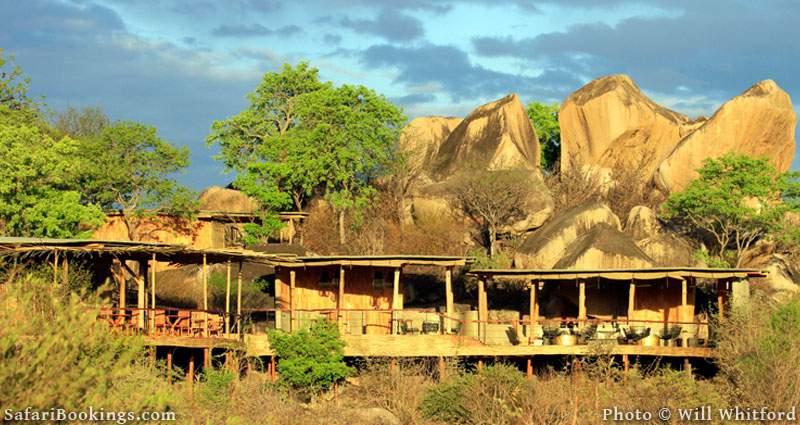 Jabali Ridge, a stylish new lodge in Ruaha National Park.