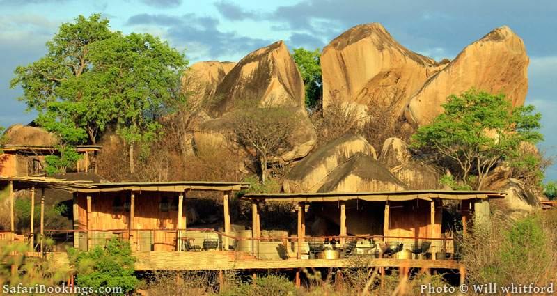 Jabali Ridge Lodge in Ruaha National Park