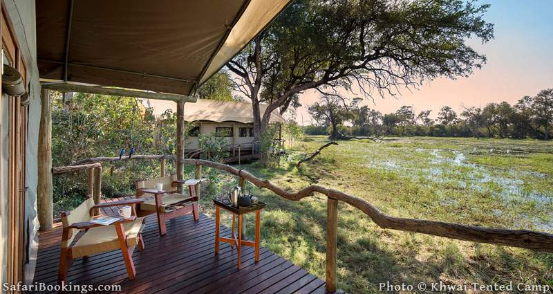 Khwai Tented Camp is one of the Best Botswana Safari Camps