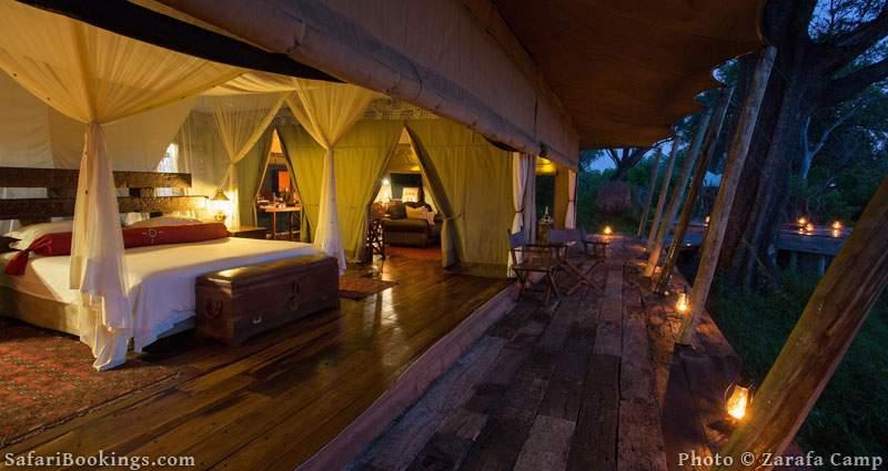 Zarafa is one of the Best Botswana Safari Camps