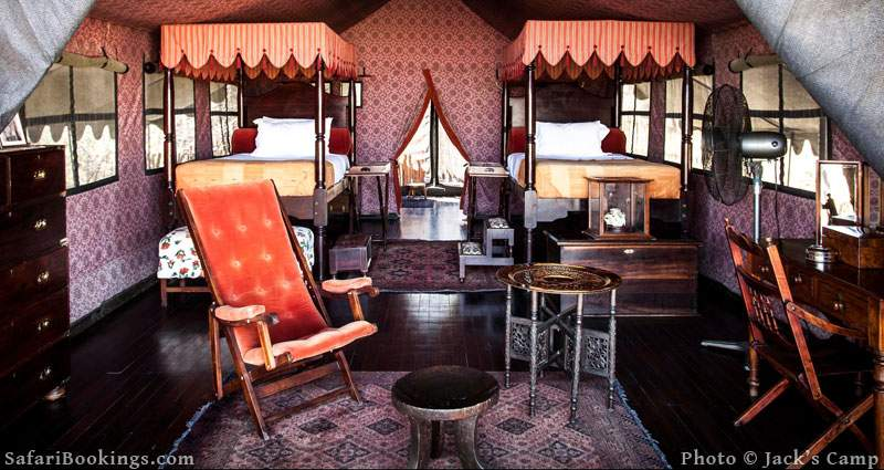 Jacks Camp is one of the Best Botswana Safari Camps