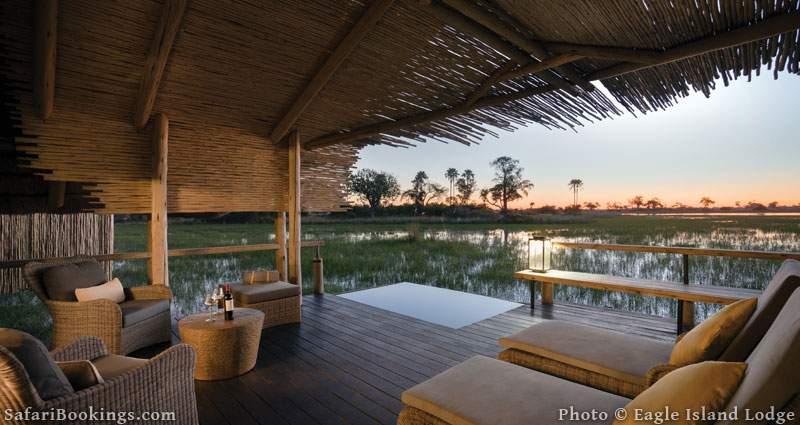 Belmond Eagle Island Lodge is one of the Best Botswana Safari Camps