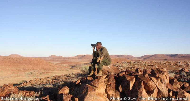 Meet Denzel, Rhino Tracker in Namibia