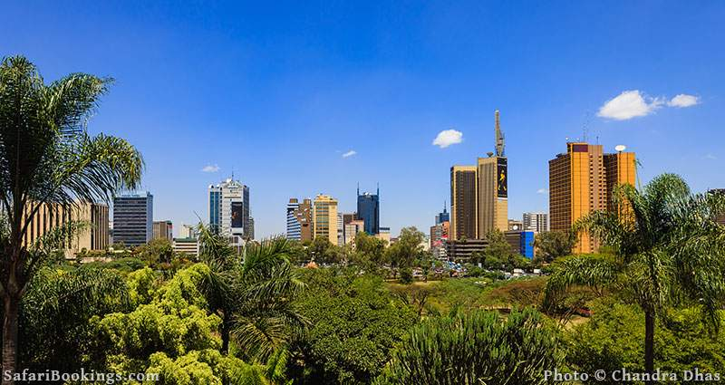 Safe place to visit in Africa: Nairobi