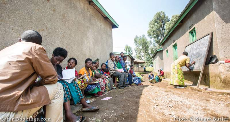 the adult literacy classes offered by Partnerships for Conservation