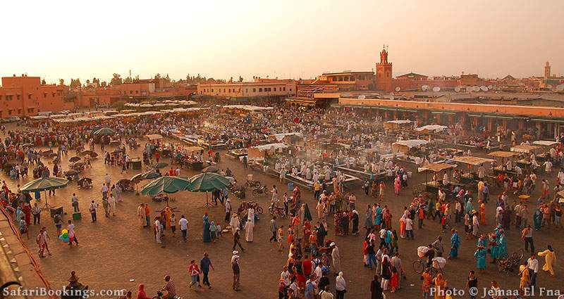 Safe place to visit in Africa: Marrakech