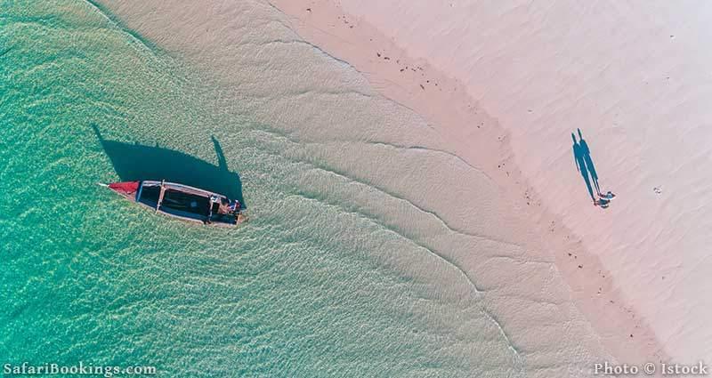 Beach of Maffia Island, Tanzania