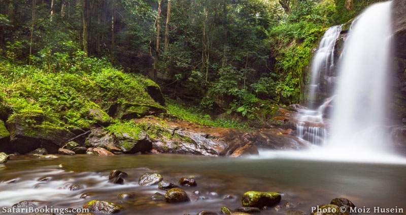 Waterfall in 2. Udzungwa Mountains National Park, Tanzania