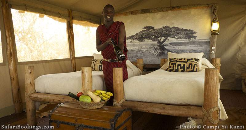 Best Kenya Safari Lodge - Campi Ya Kanzi