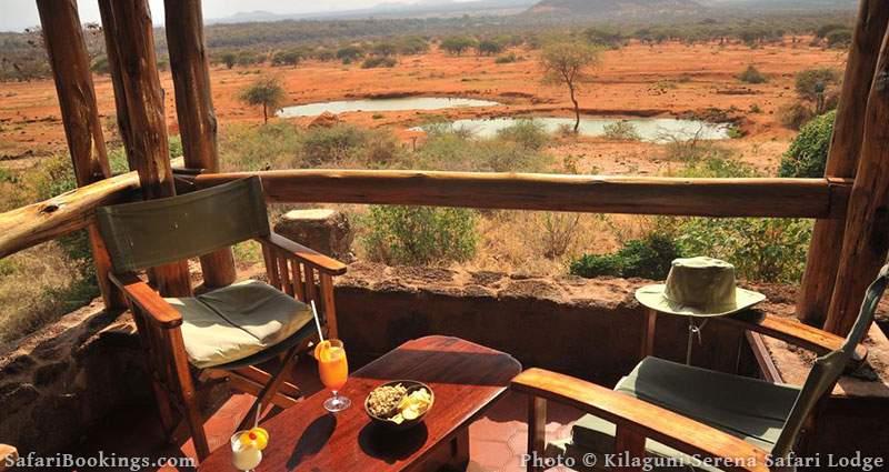 Best Kenya Safari Lodge - Kilaguni Serena Safari Lodge