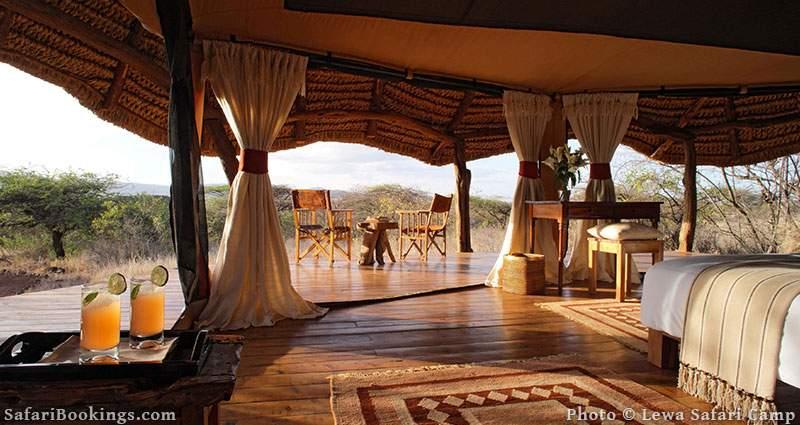 Best Kenya Safari Camp - Lewa Safari Camp