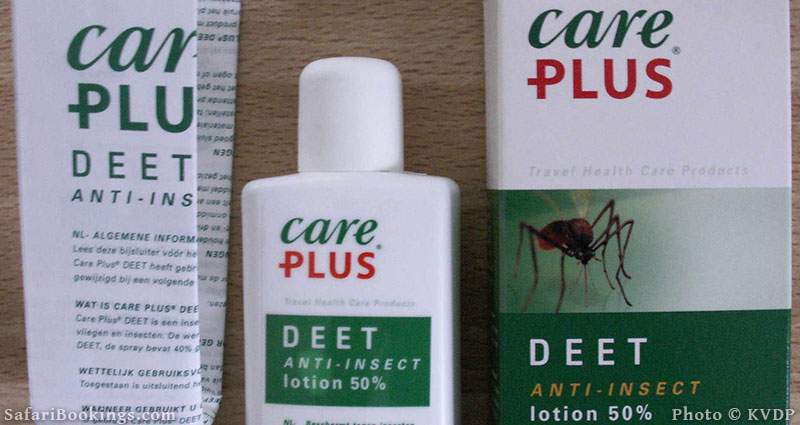 Care plus Deet, Insect repellent