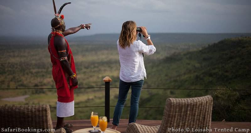 Best Kenya Safari Camp - Loisaba Tented Camp
