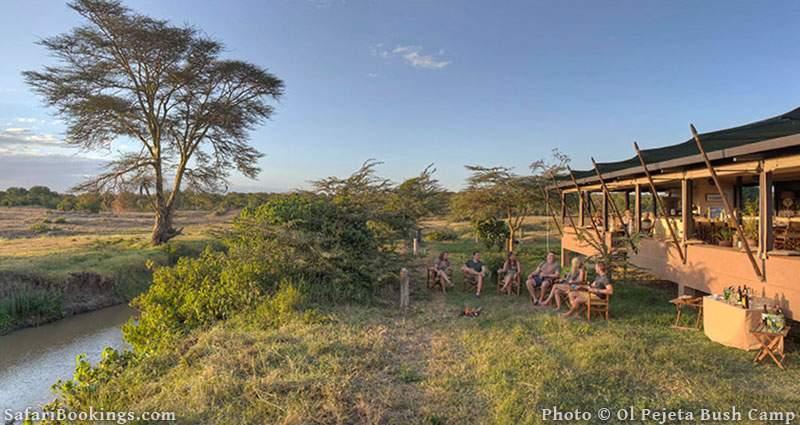 Best Kenya Safari Camp - Ol Pejeta Bush Camp