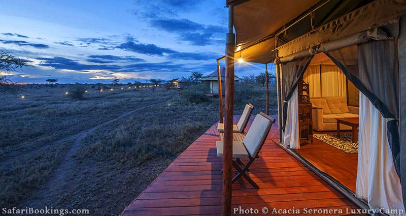 Acacia Seronera Luxury Camp