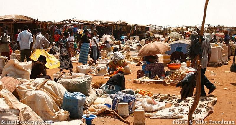 Maramba Market in Livingstone Zambia