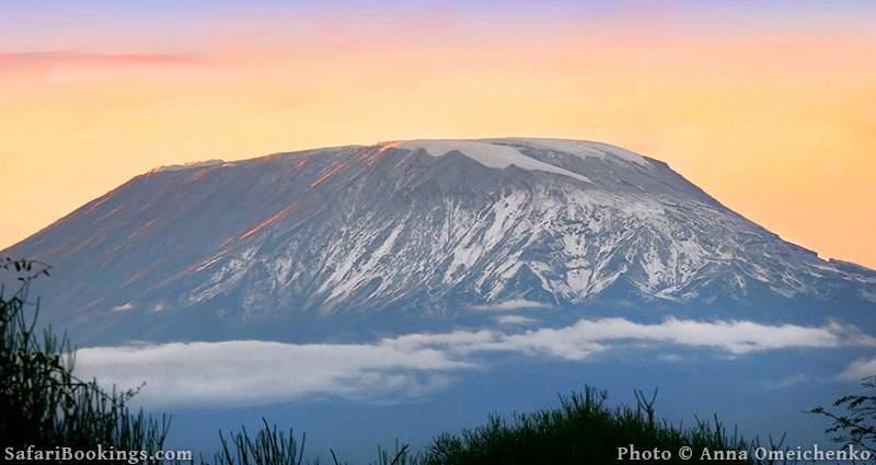 Sunrise on Mount Kilimanjaro, Tanzania