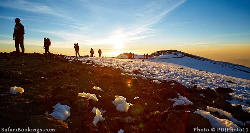 Machame Route to the summit of Mount Kilimanjaro, Tanzania