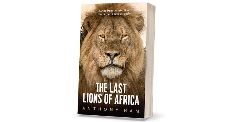 3D of book: The Last Lions in Africa by Anthony Ham