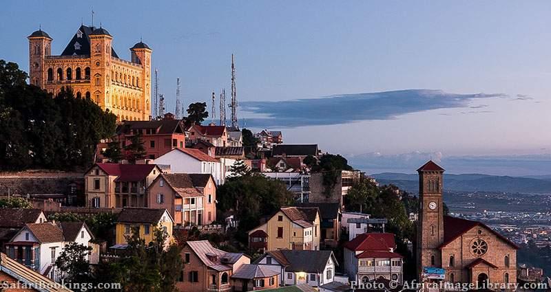 The Rova of Antananarivo or Queen's Palace in Antananarivo, Madagascar