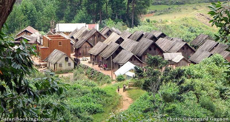 Village of Ifasina Fianarantsoa province Madagascar