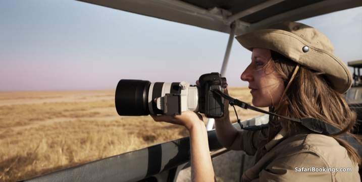 What to bring on a safari - Camera equipment