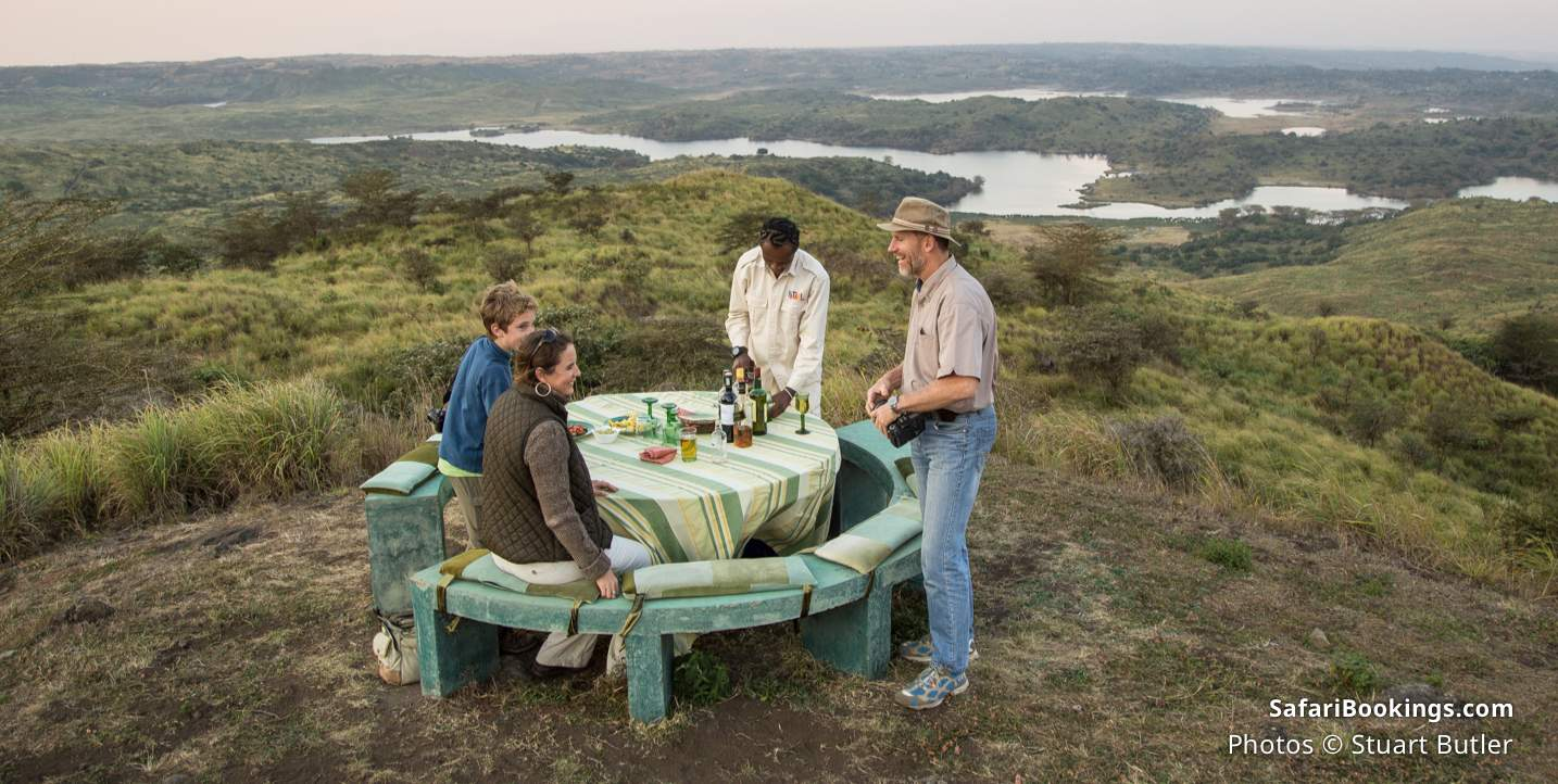 What to bring on a safari - An appetite