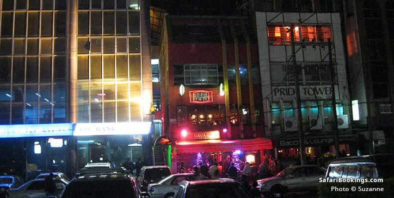 Havana Bar in Westlands, Nairobi, Kenya