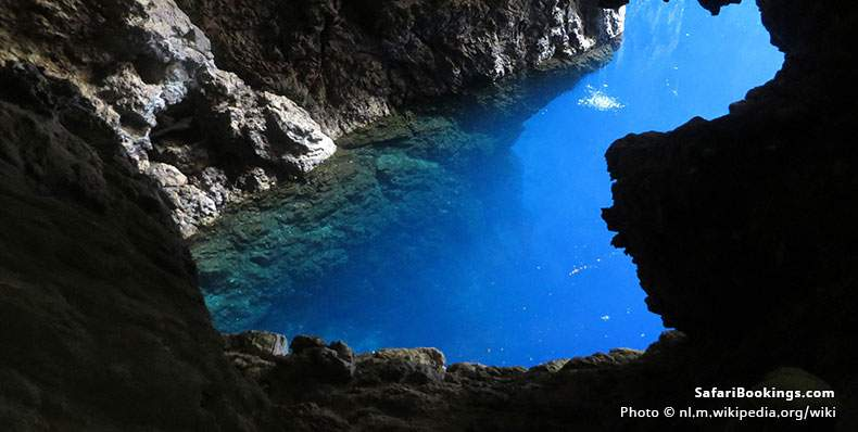 Sleeping Pool Chinhoyi caves