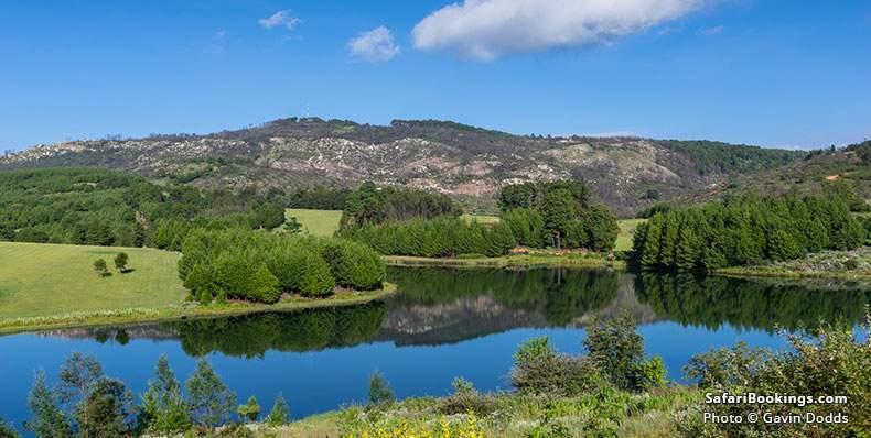 Lake in Nyanga