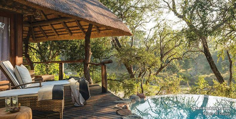 Dulini Suite with private plunge pool