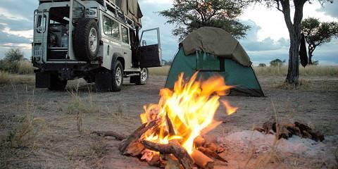 6-Day Chobe Mobile Camping + Victoria Falls Low Season