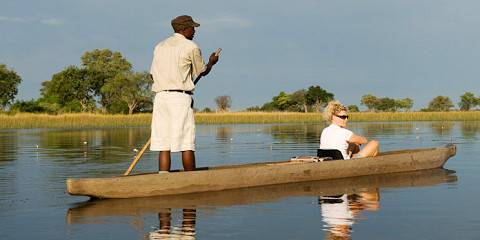 3-Day Okavango Delta Safari (Mokoro Excursions)