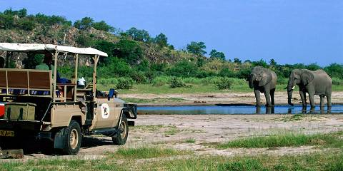 2-Day Moremi, Khwai and Okavango Delta Camping Safari