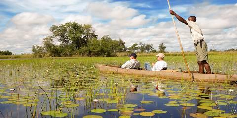 Maun to Victoria Falls Camping Overland Tour