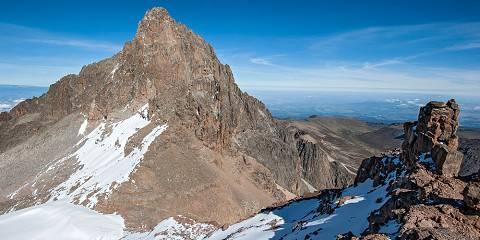 6-Day Mount Kenya Trip (Chogoria - Sirimon Route)