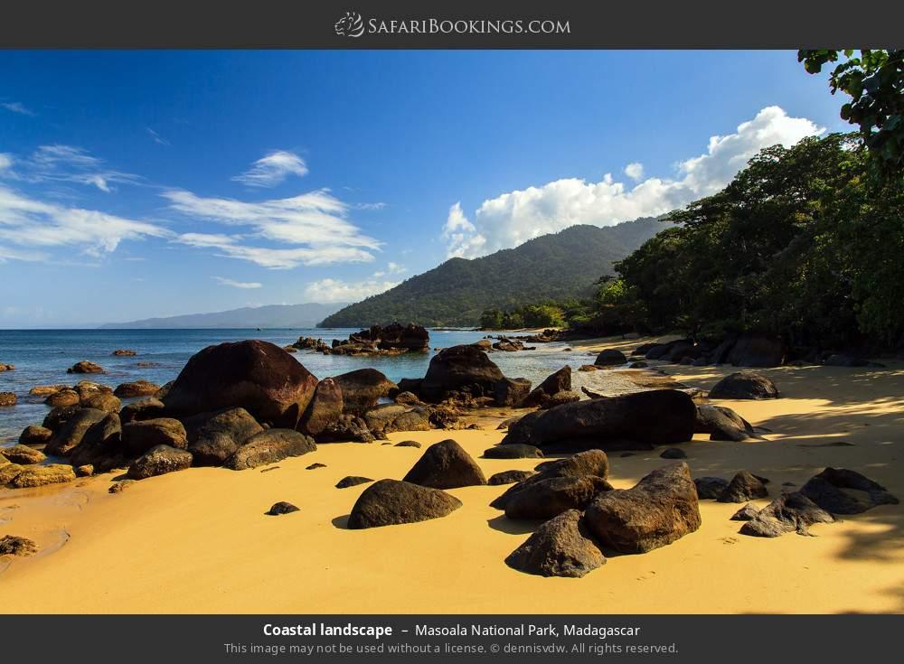 Coastal landscape in Masoala National Park, Madagascar