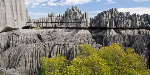 Tsiribihina-Tsingy of Bemaraha and Baobab Avenue
