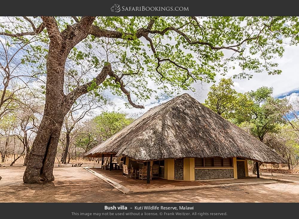 Bush villa in Kuti Wildlife Reserve, Malawi