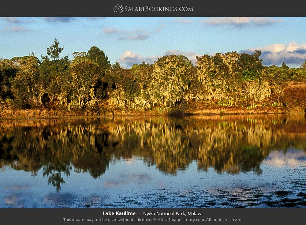 Lake Kaulime in Nyika National Park, Malawi