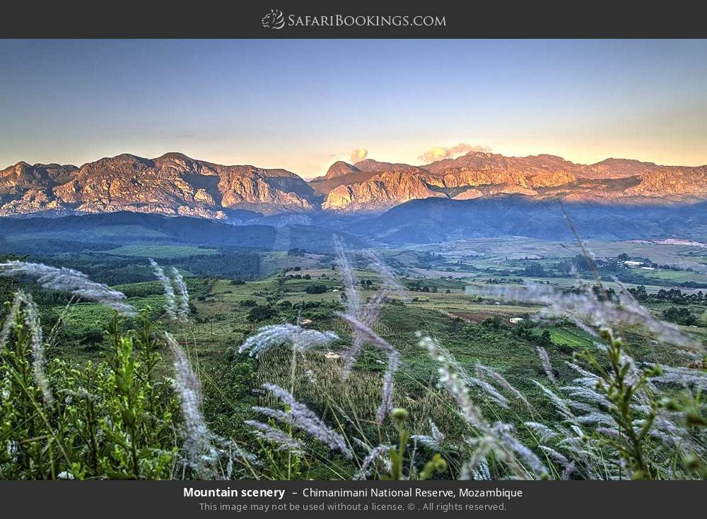 Mountain scenery in Chimanimani National Reserve, Mozambique
