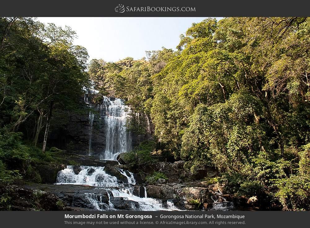 Morumbodzi Falls on Mount Gorongosa in Gorongosa National Park, Mozambique
