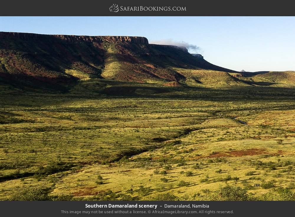 Southern Damaraland scenery in Damaraland, Namibia