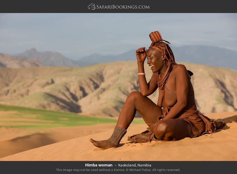 Himba woman in Kaokoland, Namibia